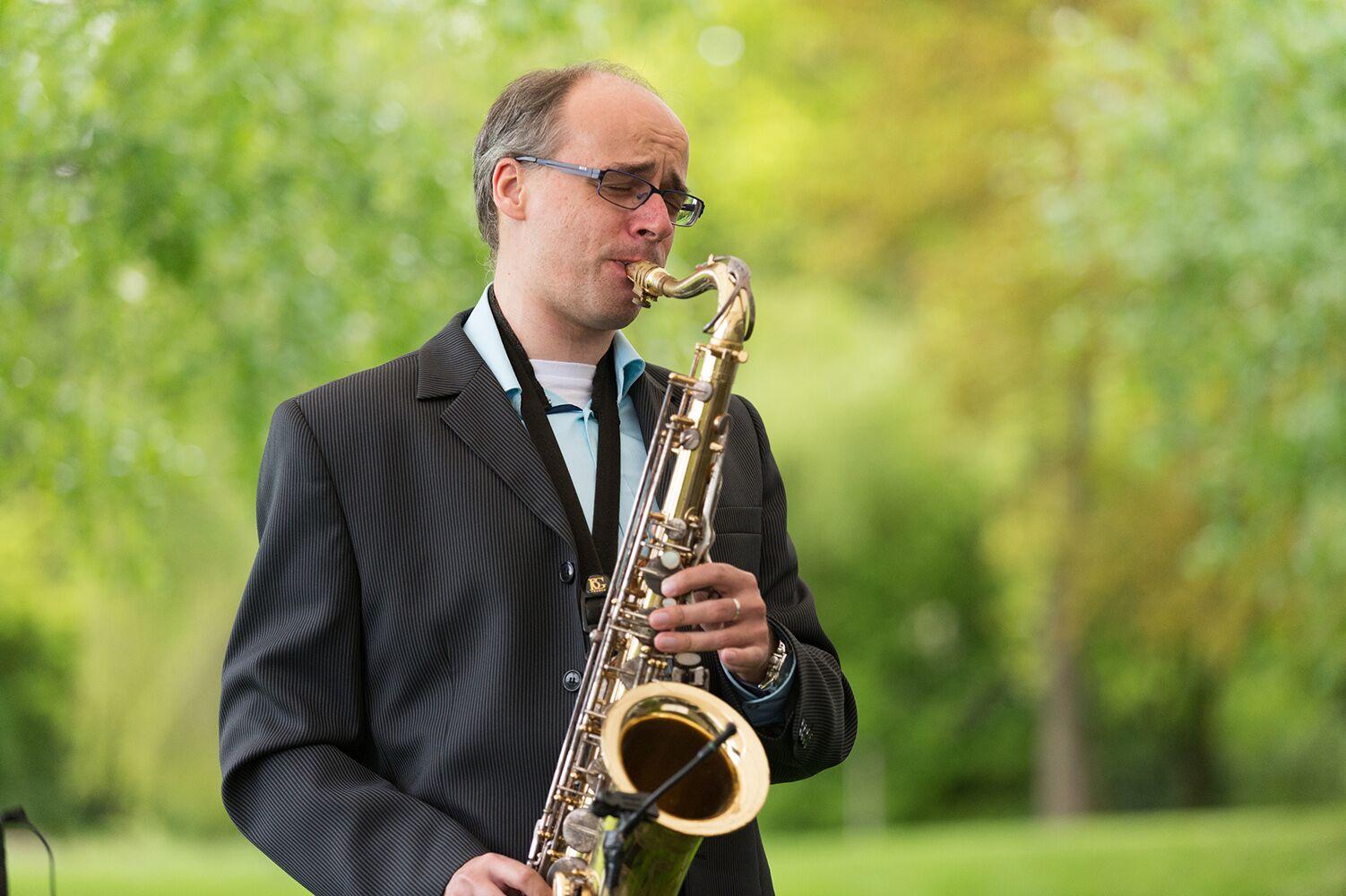 Georg Lehmann Saxophon, Hochzeitsmusiker