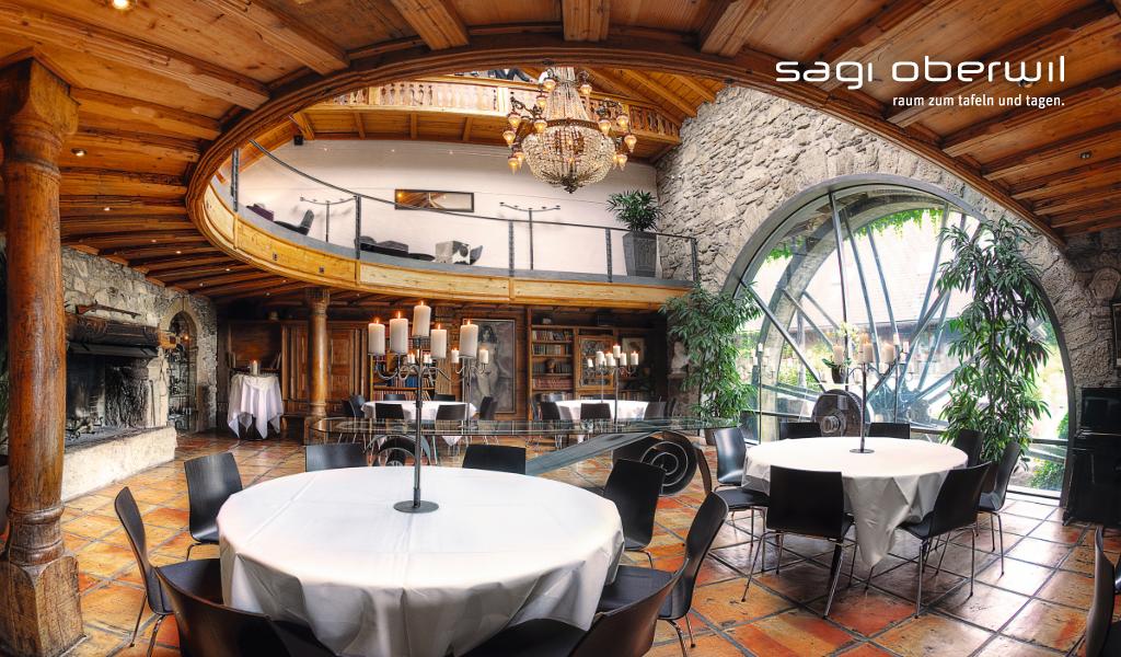 Sagi Oberwil Hochzeitszeremonie Eventlokal