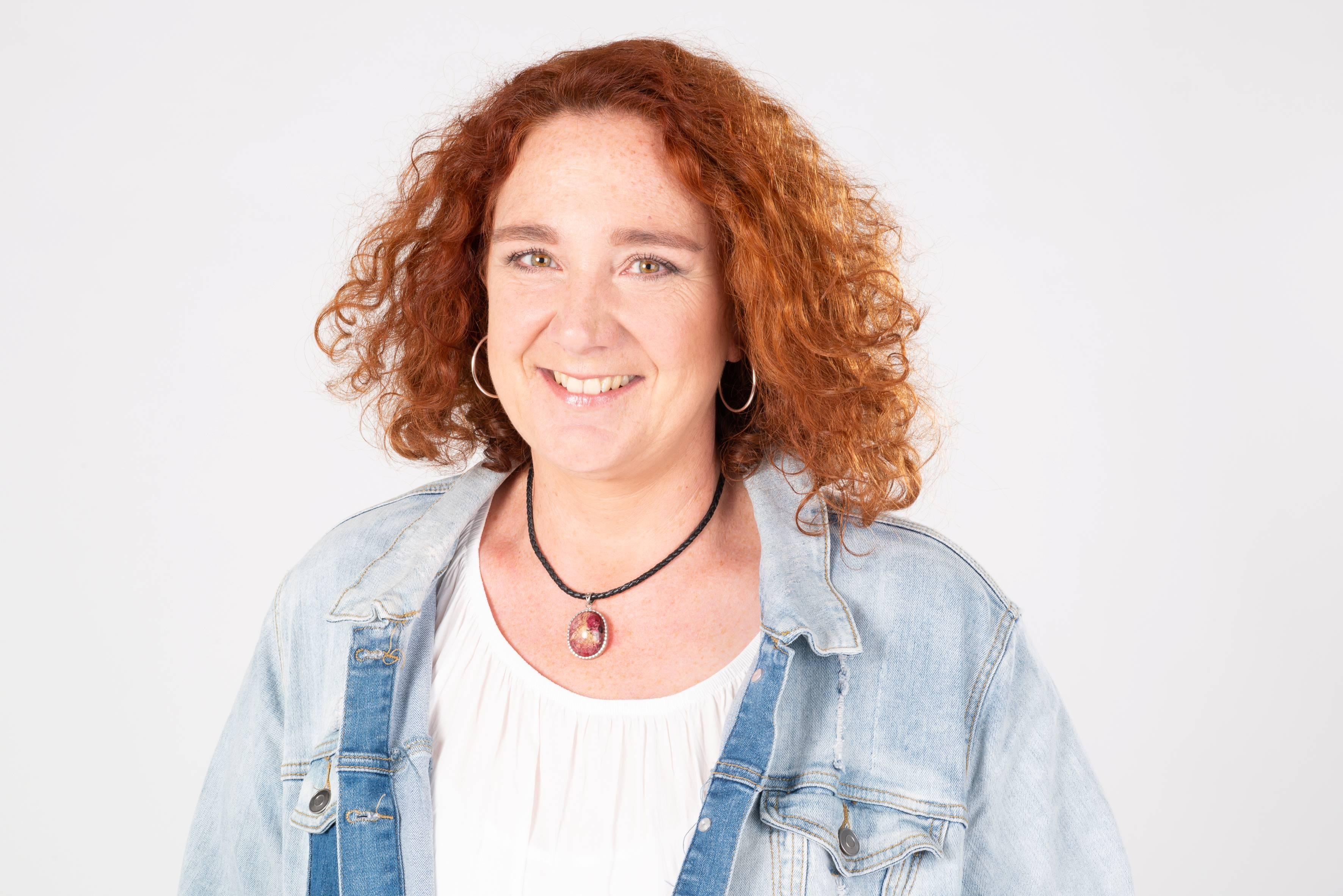 Zeremonienleiterin Barbara Schleuniger
