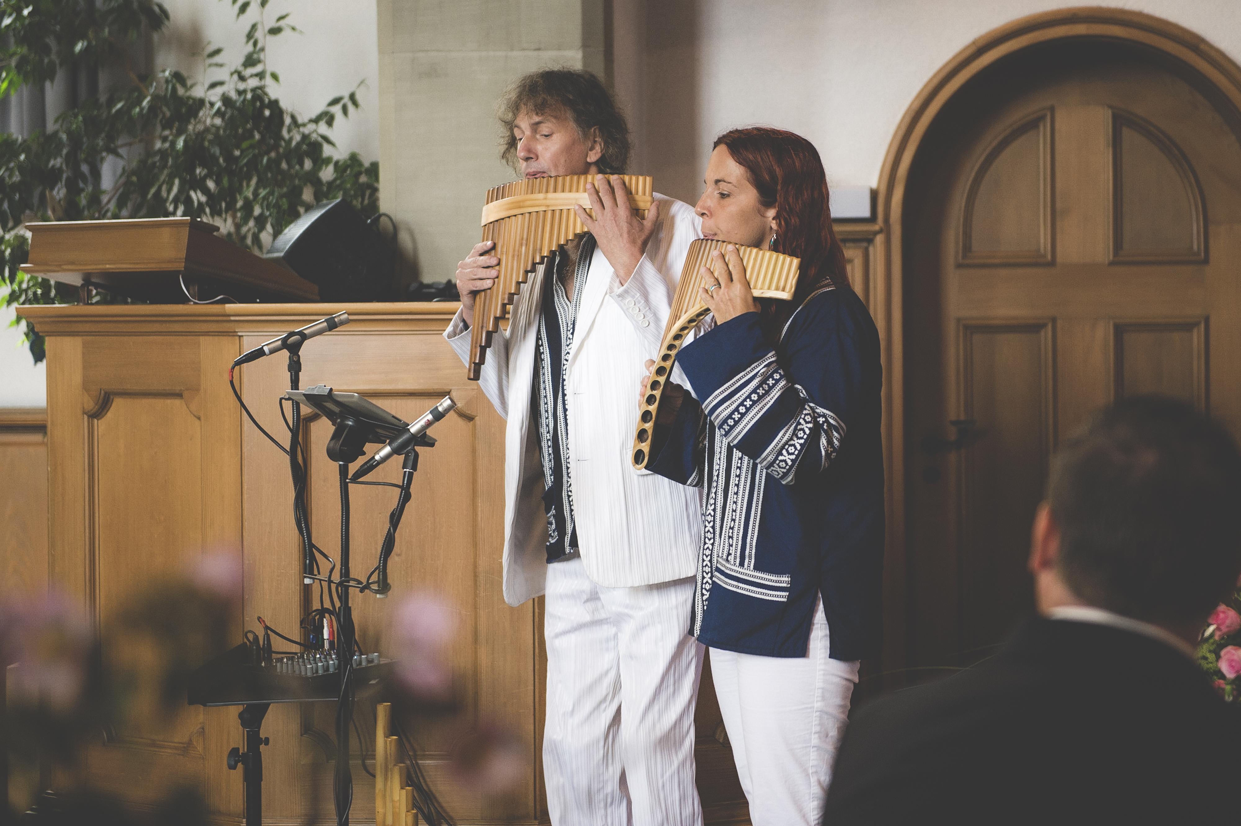 Panflötenduo, Musiker